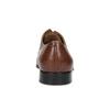 Hnedé kožené pánske poltopánky bata, hnedá, 826-3406 - 15