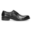 Pánske kožené Monk shoes čierne bata, čierna, 824-6632 - 19