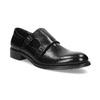 Pánske kožené Monk shoes čierne bata, čierna, 824-6632 - 13