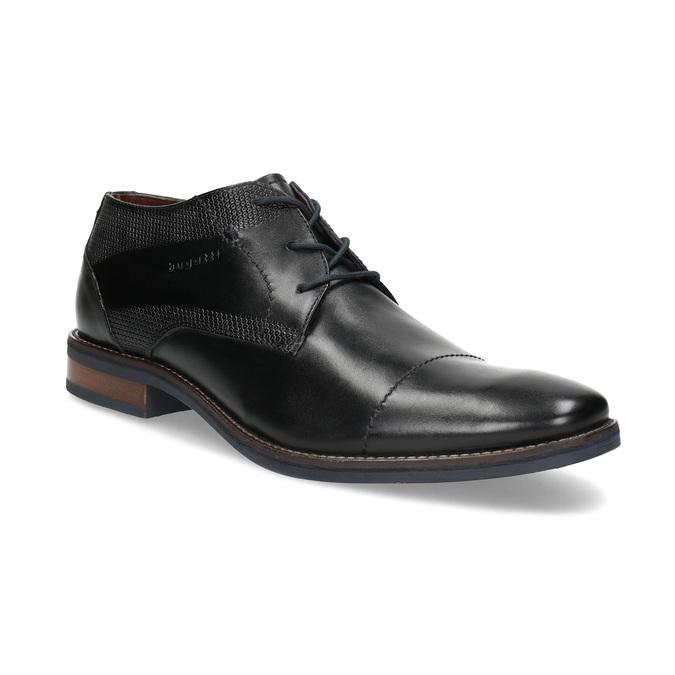 Čierne členkové poltopánky bugatti, čierna, 826-6052 - 13