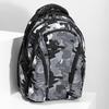 Maskáčový šedý školský batoh bagmaster, šedá, 969-2718 - 17