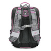 Šedá školská aktovka s ružovými detailami bagmaster, šedá, 969-2716 - 16