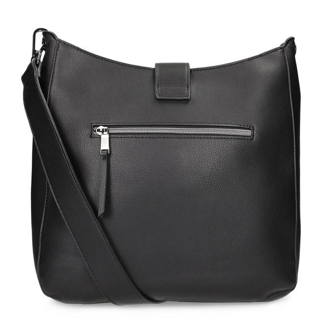 Čierna dámska kabelka s prackou bata, čierna, 961-6870 - 16