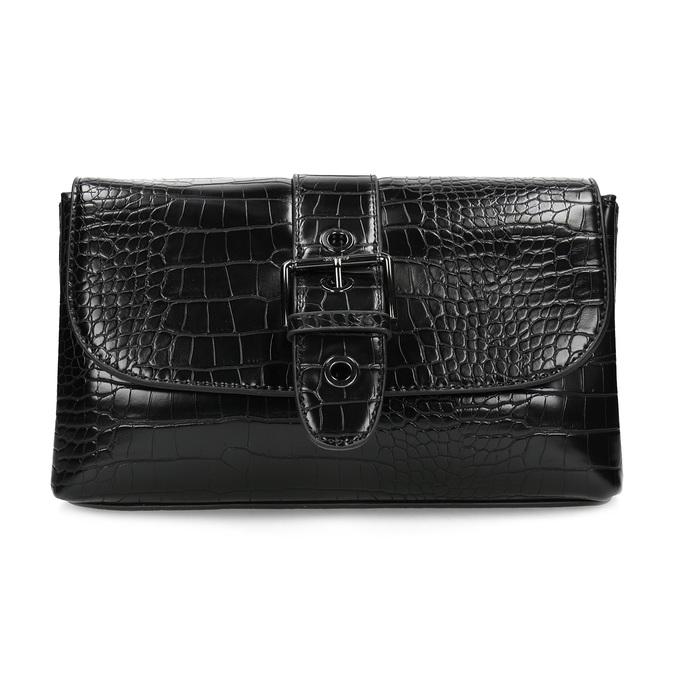 Čierna Crossbody kabelka s prackou bata, čierna, 961-6873 - 26