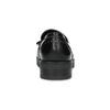 Dámske kožené mokasíny so strapcami flexible, čierna, 514-6600 - 15