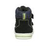 Členková detská obuv na suché zipsy bubblegummers, modrá, 113-9610 - 15