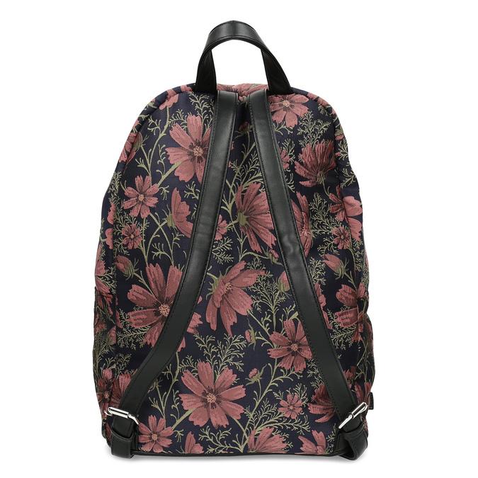 Batoh s kvetinovým vzorom bata, viacfarebné, 969-0703 - 16