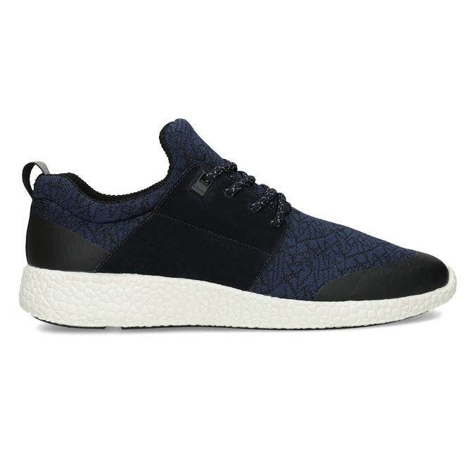 Pánske športové modré tenisky bata-light, modrá, 849-9634 - 19