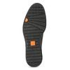 Pánske čierne kožené poltopánky flexible, čierna, 824-6766 - 18