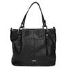 Čierna kabelka s prešitím gabor-bags, čierna, 961-6064 - 26