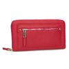 Dámska červená peňaženka so zipsom bata, červená, 941-5221 - 13
