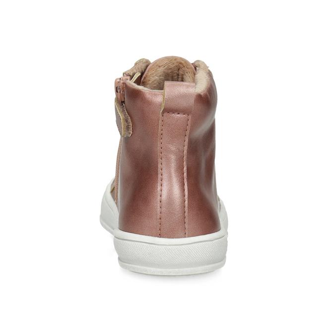 Členkové detské tenisky so zateplením mini-b, ružová, 321-5619 - 15