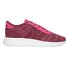 Ružové detské tenisky so žíhaním adidas, ružová, 409-5188 - 19