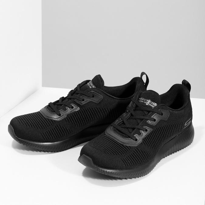 Čierne dámske ležérne tenisky skechers, čierna, 509-6146 - 16