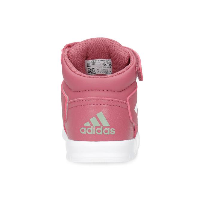 Ružové členkové detské tenisky adidas, ružová, 101-5220 - 15
