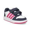 Biele detské tenisky na suchý zips adidas, viacfarebné, 101-1194 - 13