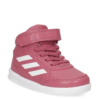 Ružové členkové detské tenisky adidas, ružová, 101-5220 - 13
