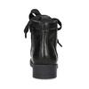 Kožená členková detská obuv mini-b, čierna, 424-6600 - 15