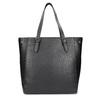 Čierna kabelka v štýle Tote s kamienkami bata, čierna, 969-6875 - 16