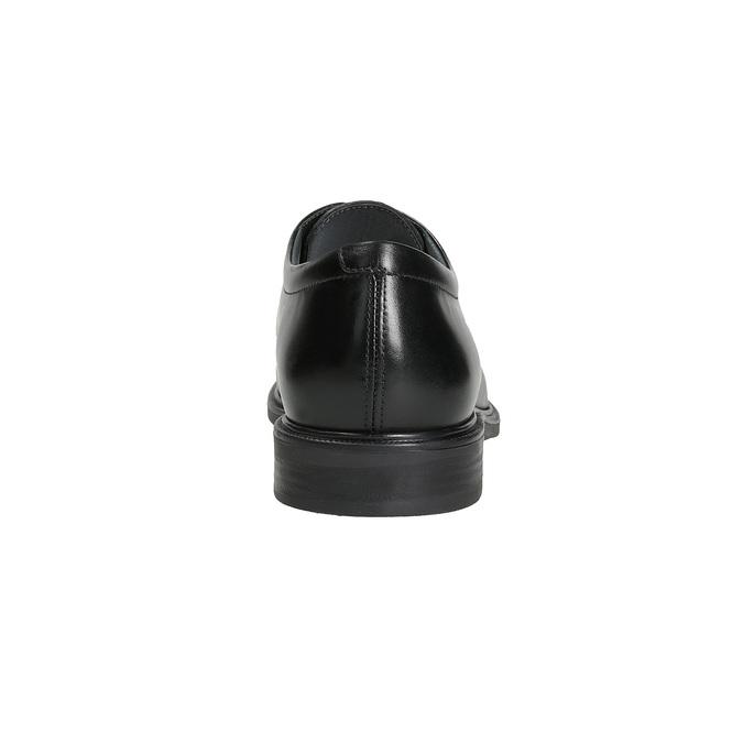 Pánske kožené derby poltopánky climatec, čierna, 824-6691 - 15