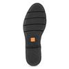 Kožené dámske čierne Chelsea flexible, čierna, 594-6667 - 18