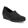 Čierna dámska obuv na kline comfit, čierna, 619-6600 - 13