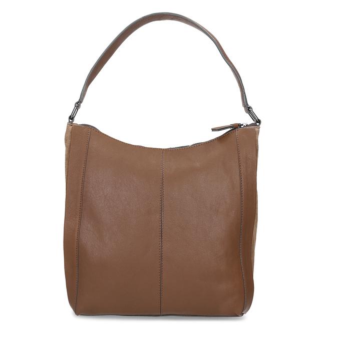 Hnedá kožená kabelka bata, hnedá, 964-3254 - 16
