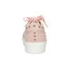 Ružové dámske tenisky s kovovými cvokmi north-star, ružová, 521-5641 - 15