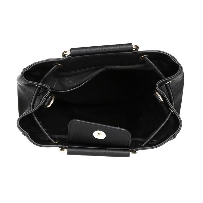 Čierna dámska Bucket kabelka bata, čierna, 961-6890 - 15