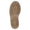 Ružová kožená členková obuv weinbrenner-junior, ružová, 326-5608 - 18