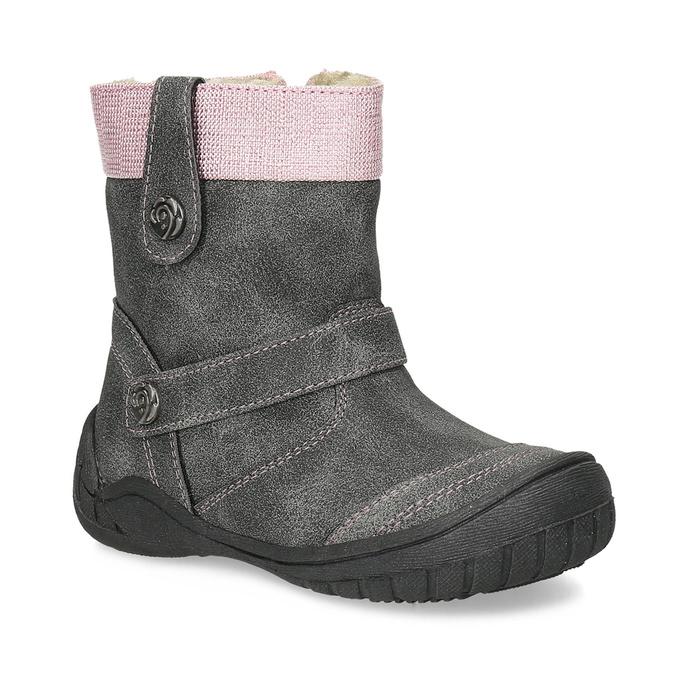 Bubblegummers Detské zimné čižmy s prackami - Zimná obuv  f7a557a63de