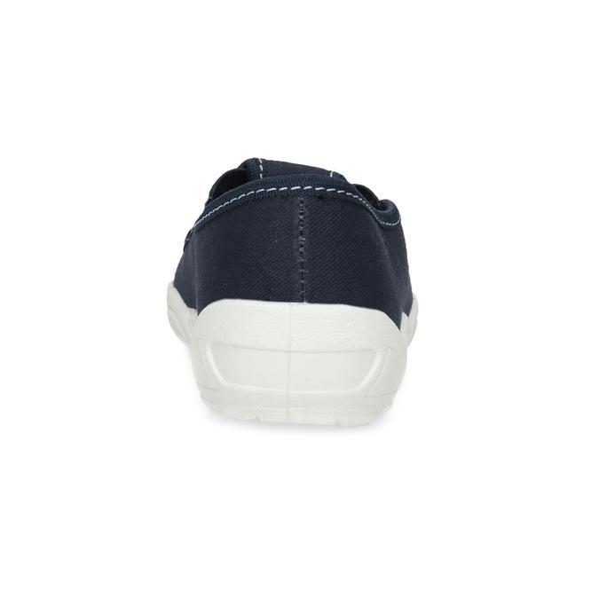 Detská domáca obuv s motívom rakety mini-b, modrá, 379-9219 - 15