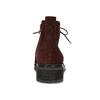 Vínová kožená členková obuv gabor, červená, 623-5029 - 15