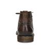 Členková pánska obuv s viazaním bugatti, hnedá, 826-4056 - 15
