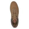 Pánske členkové hnedé tenisky bata-red-label, hnedá, 841-3626 - 17