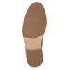Pánska členková béžová obuv bata-red-label, hnedá, 821-3608 - 18
