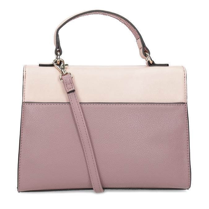 Staroružová dámska kabelka bata-red-label, ružová, 961-9892 - 16