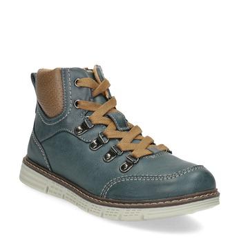 Modrá detská členková obuv mini-b, modrá, 311-9614 - 13