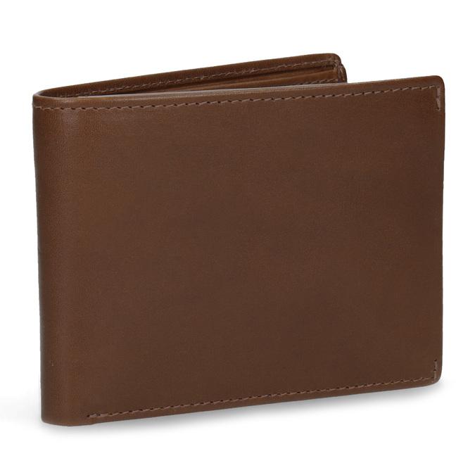 Hnedá kožená pánska peňaženka bata, hnedá, 944-3223 - 13