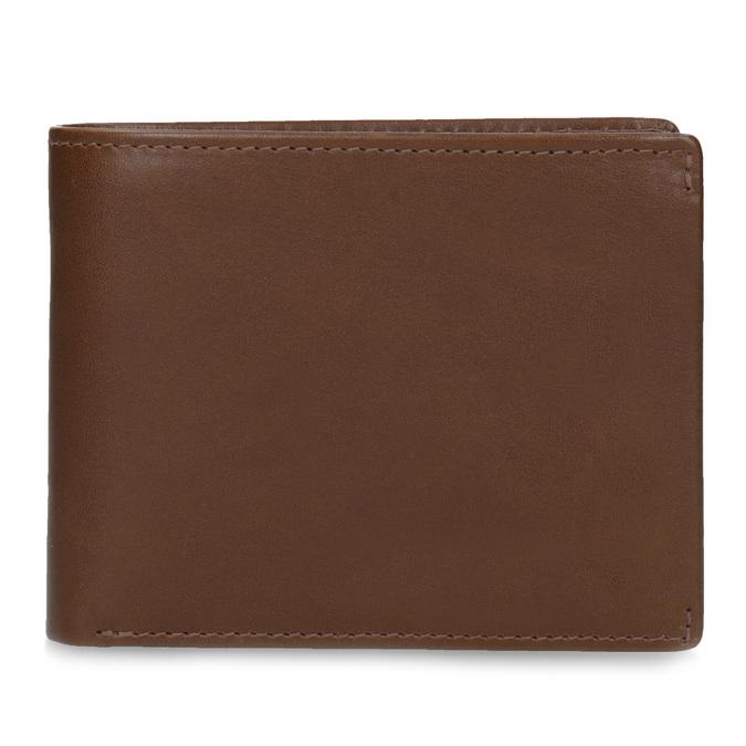 Hnedá kožená pánska peňaženka bata, hnedá, 944-3223 - 26