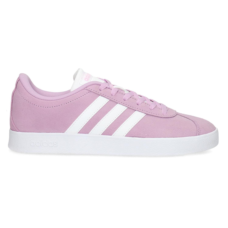 cb18c269adeb8 Adidas Detské kožené tenisky ružové - Všetky dievčenské topánky ...