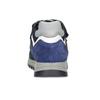 Modré detské tenisky na suché zipsy mini-b, modrá, 413-9606 - 15