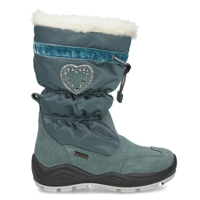 Dievčenské snehule s kamienkami mini-b, modrá, 399-7658 - 19