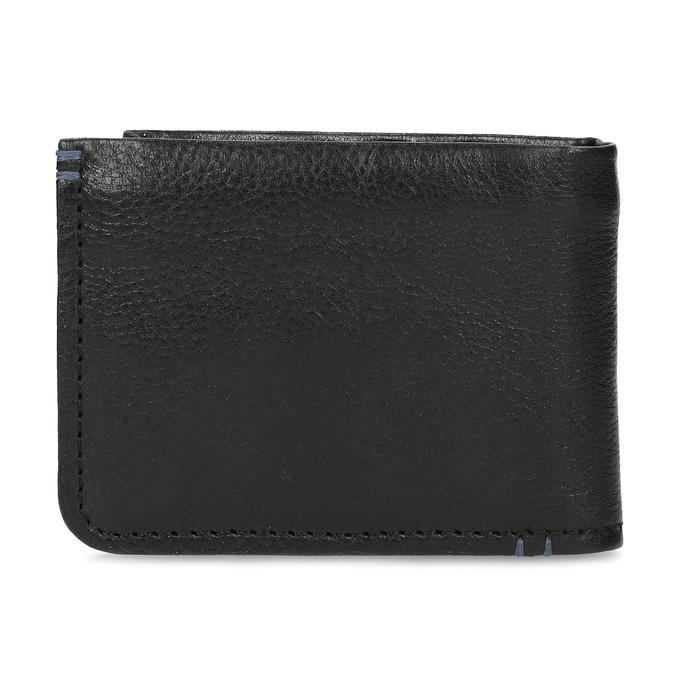 Kožená čiernw pánska peňaženka bata, čierna, 944-6214 - 16