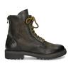 Zimná vysoká kožená členková obuv bata, šedá, 896-2737 - 19