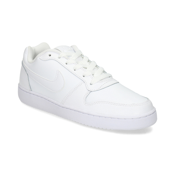 Biele dámske tenisky s prešitím nike, biela, 501-1130 - 13