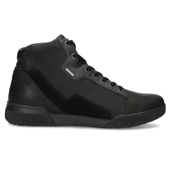 Pánska čierna členková obuv geox, čierna, 821-6033 - 19