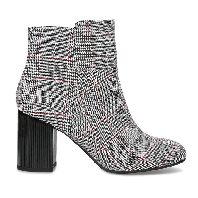 Členková dámska obuv so vzorom bata-red-label, viacfarebné, 799-1628 - 19