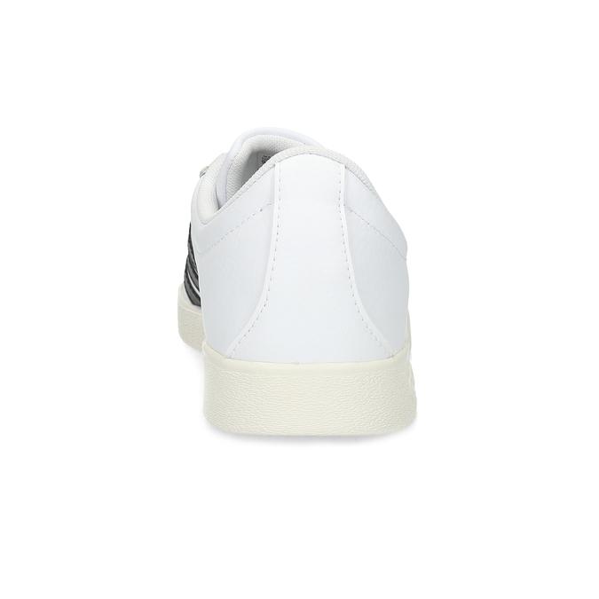 Biele pánske ležérne tenisky adidas, biela, 801-1146 - 15