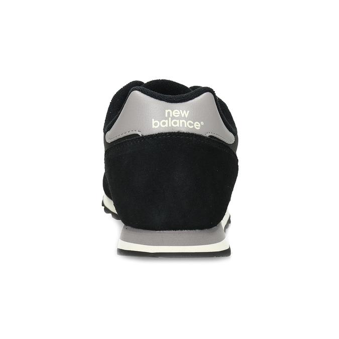 Čierne pánske tenisky z brúsenej kože new-balance, čierna, 803-6137 - 15